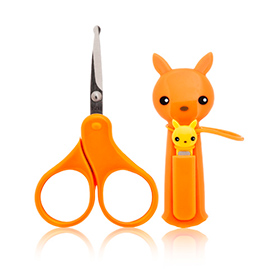 FREE baby-approved scissors...