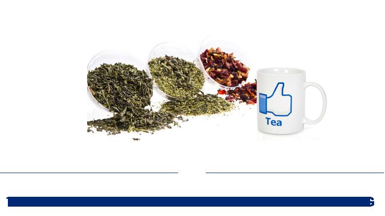 Набор образцов чая и кружка от Coffee & Tea Experts